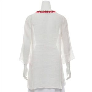 Calypso tunic / Cover up/ embellished